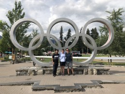 Educational Agency Event in Whistler - Olympic Rings